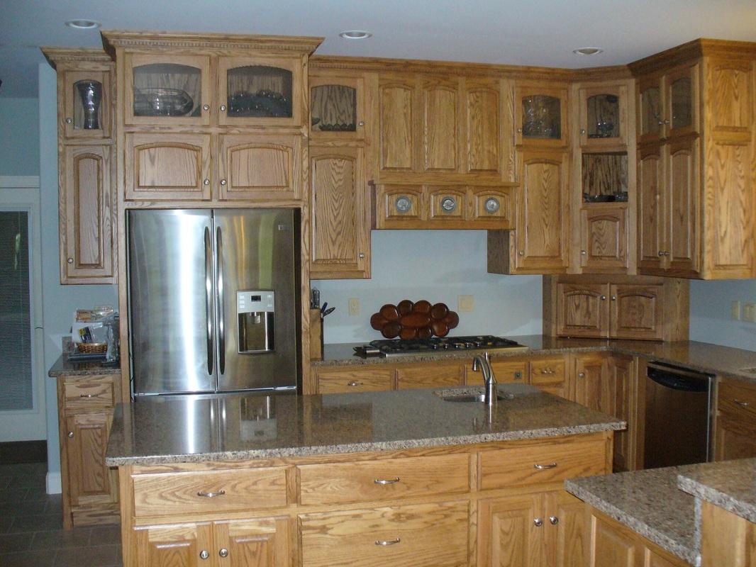 Oak & Hickory - Bewley's Cabinets Inc.